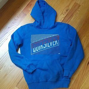 Like new boy sz S Quicksilver hoodie